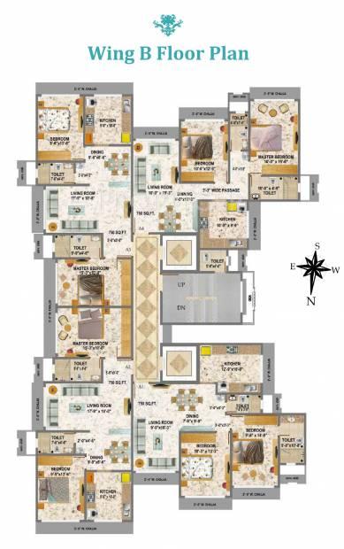 Images for Cluster Plan of Geoprenuer Mayur Residencies