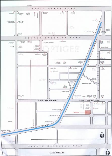 Images for Location Plan of Siddhi Venessa