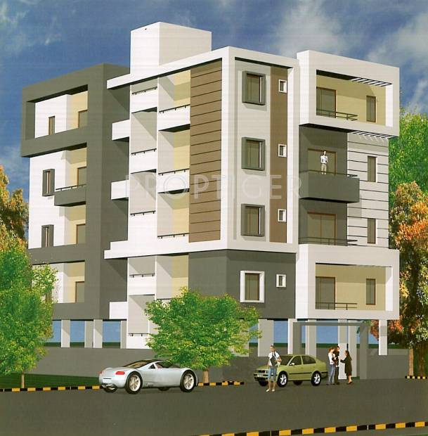 Elevation Stones Bangalore : Main elevation image of nandi jewels unit available at