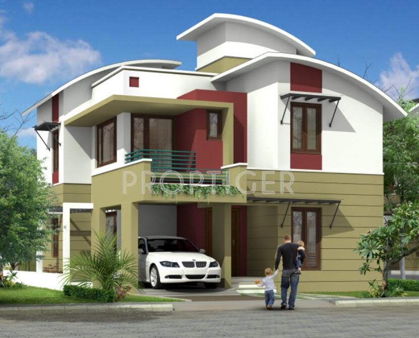 Front Elevation Of Villas In Bangalore : Sankalpa green park villas in horamavu bangalore price