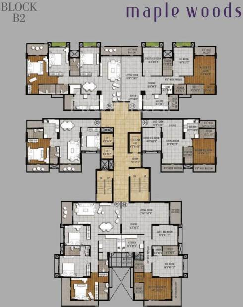 Images for Cluster Plan of Shekhar Maple Woods