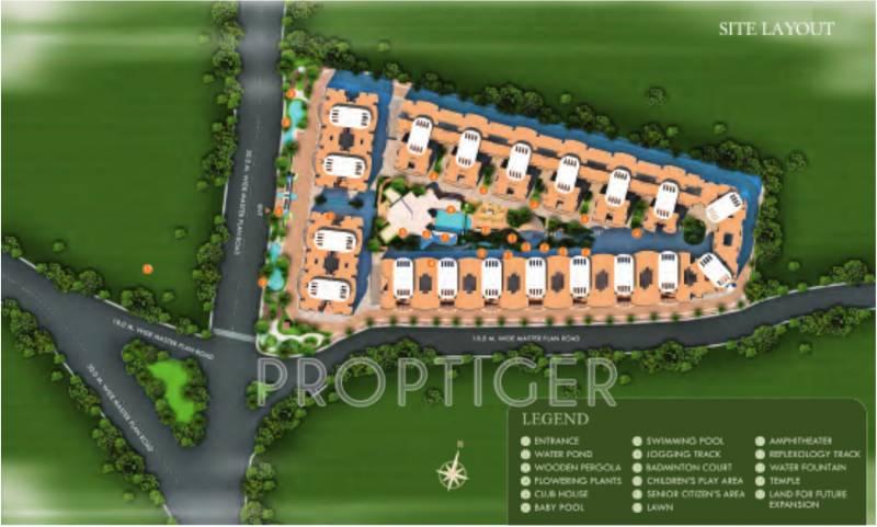 Images for Master Plan of Shekhar Maple Woods