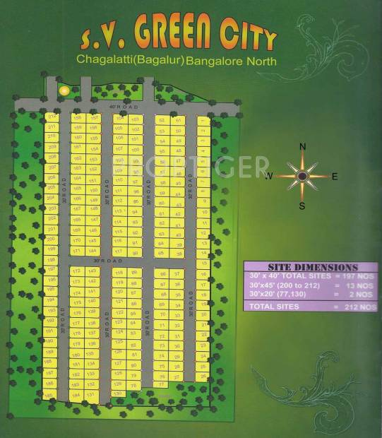 Images for Layout Plan of Leland SV Green City
