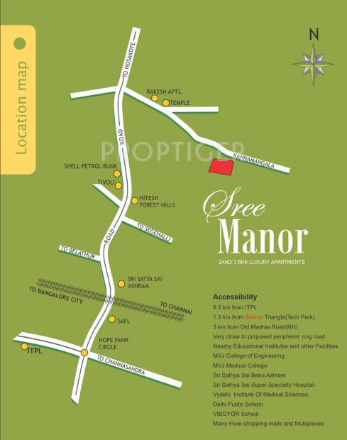 Images for Location Plan of Prathamaa Shree Manor