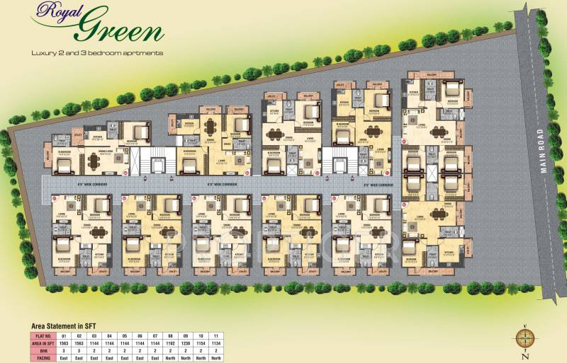 Images for Layout Plan of Green Royal Green