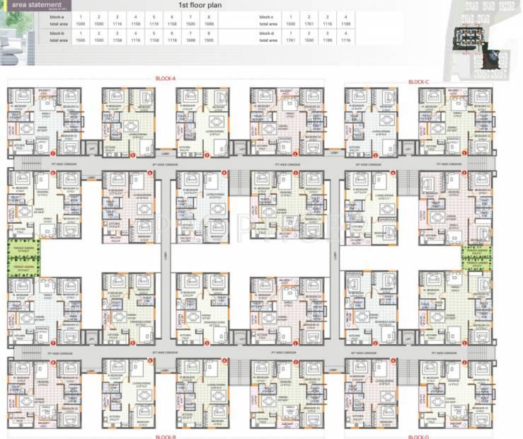 Images for Cluster Plan of  Florence Village