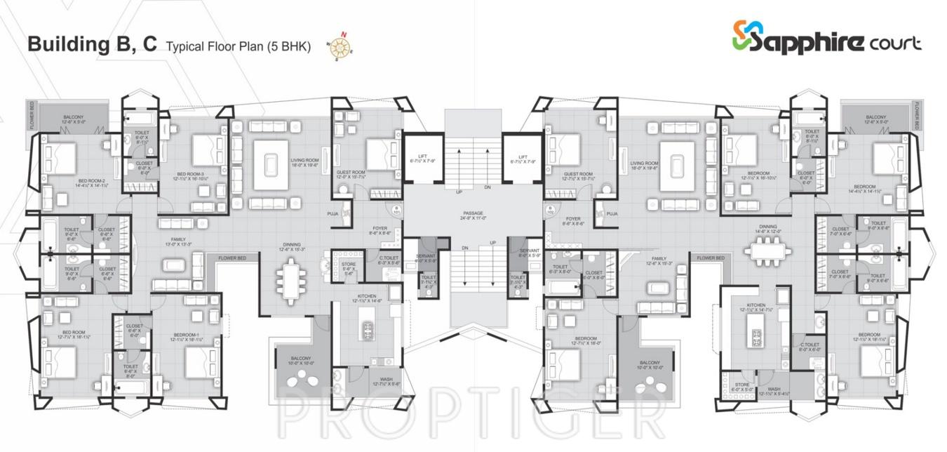 4711 sq ft 5 bhk 5t apartment for sale in rameshwaram for 125 court street floor plans