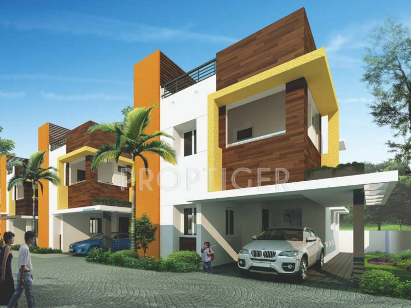 Images for Elevation of Advaitaa Orange Blossom Villa