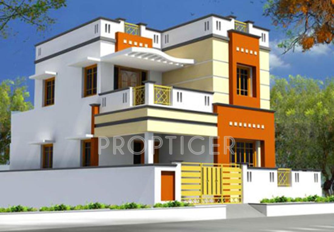 Main elevation image 5 of sri lakshme ram property pvt ltd for Villas elevations photo gallery