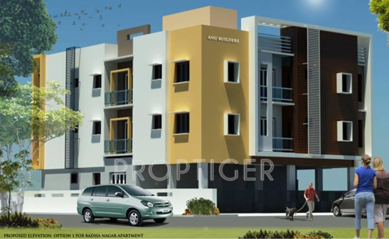 anu-builders radha-enclave Elevation