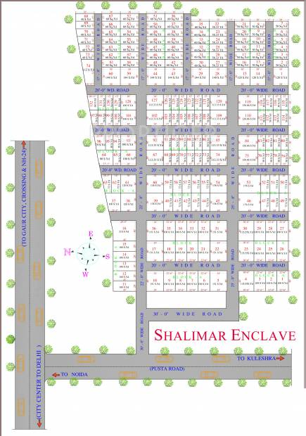 Images for Layout Plan of PDH Shalimar Enclave
