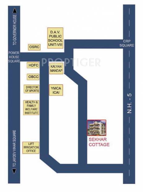 Images for Location Plan of Sekhar Cottage