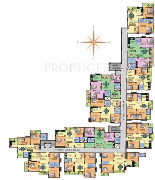 Images for Cluster Plan of Sekhar Sekhar Garden