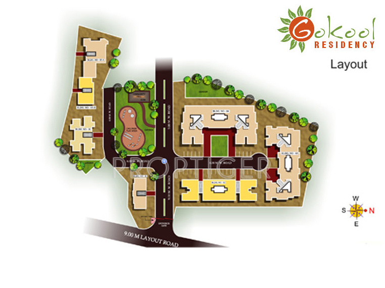 Images for Layout Plan of Rely Developers Gokool Residency