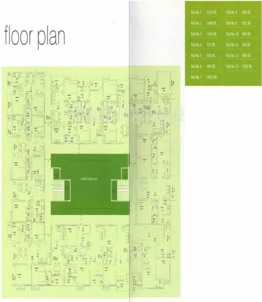 gowri-espana Images for Cluster Plan of Vishwas Gowri Espana