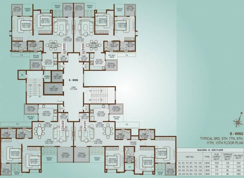 alcinia Images for Cluster Plan of Vertical Alcinia