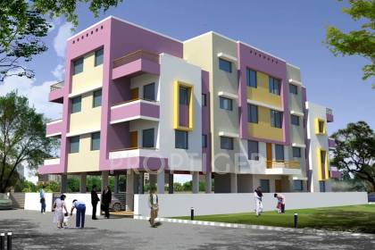 Images for Elevation of Advait Shantiban Apartment