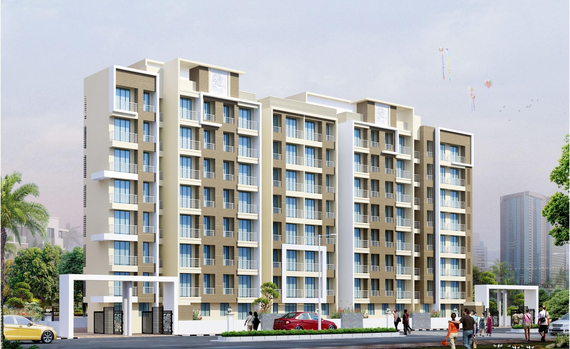 480 Sq Ft 1 Bhk 1t Apartment For Sale In Shantee Group