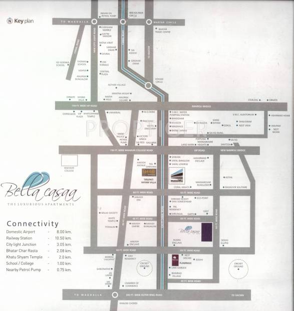 bellacasaa Images for Location Plan of White Bellacasaa