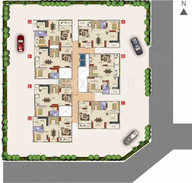 Images for Cluster Plan of Elysium Boulevard