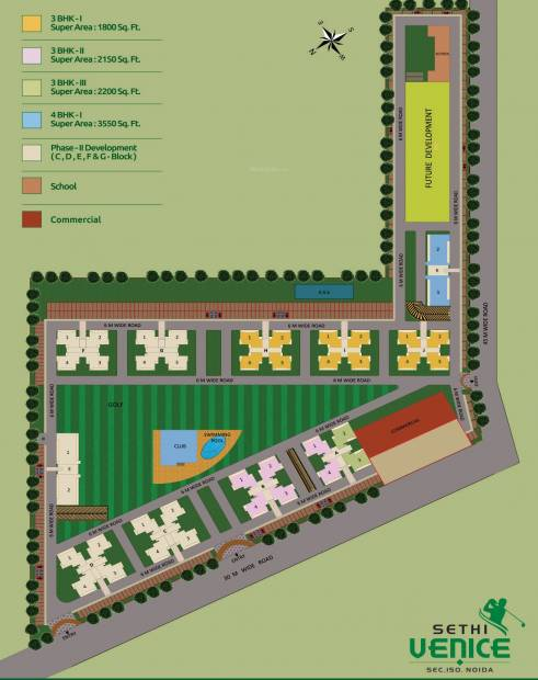 Images for Layout Plan of Sethi Venice