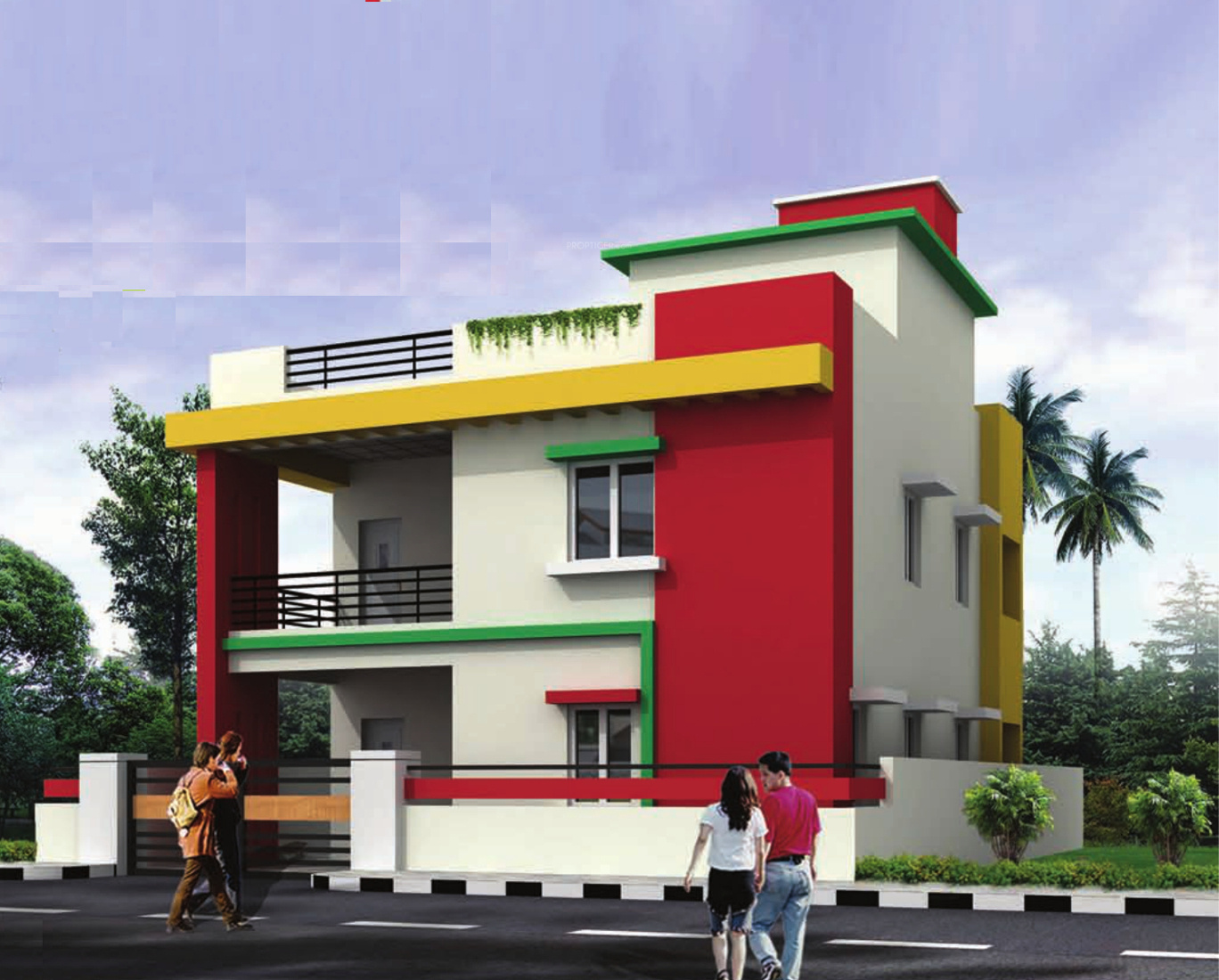 1890 sq ft 4 bhk 3t villa for sale in sardar projects for Teak wood doors in visakhapatnam
