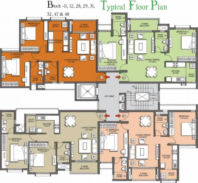 Images for Cluster Plan of Prestige Kew Gardens
