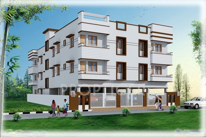 Images for Elevation of Deepika Temple View Royal Apartment