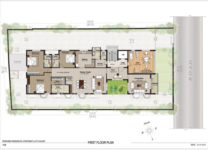 Images for Cluster Plan of Chaitanya Foundations Astoria