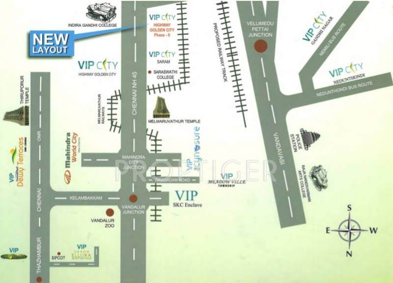 vip-housing-and-properties golden-city-phase-ii Location Plan