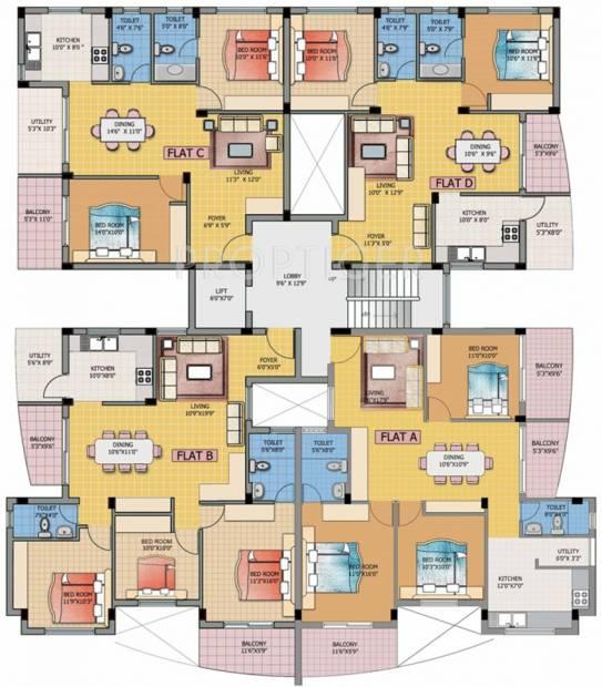 Images for Cluster Plan of Elysium Vistara