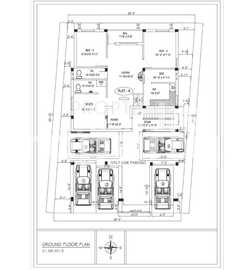 640 sq ft 2 bhk 2t apartment for sale in s gayathri kirthi for 640 square feet floor plan