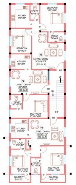 Images for Cluster Plan of Sekaran Apex Villa