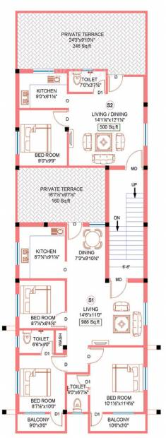 Images for Cluster Plan of Sekaran Apex Villa