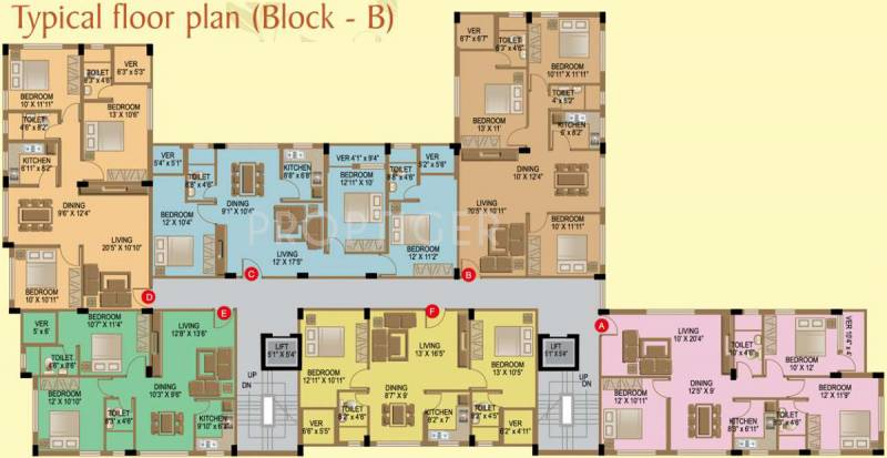 Images for Cluster Plan of Starlite DNP Heights