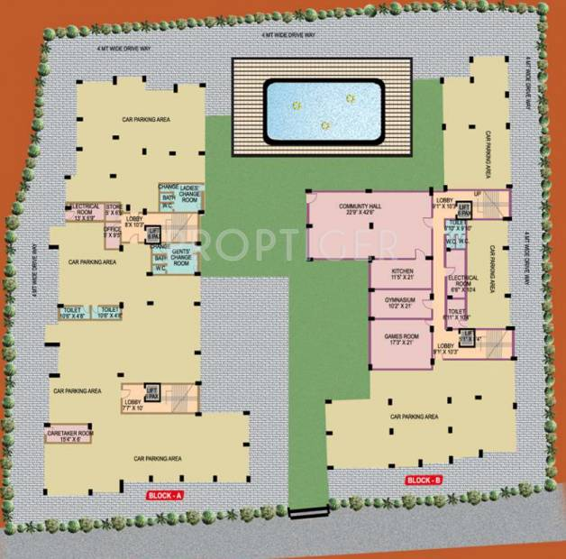 Images for Layout Plan of Starlite DNP Heights
