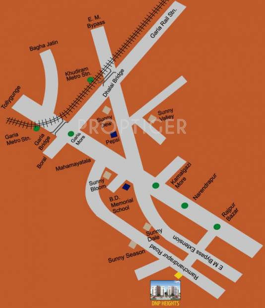 Images for Location Plan of Starlite DNP Heights
