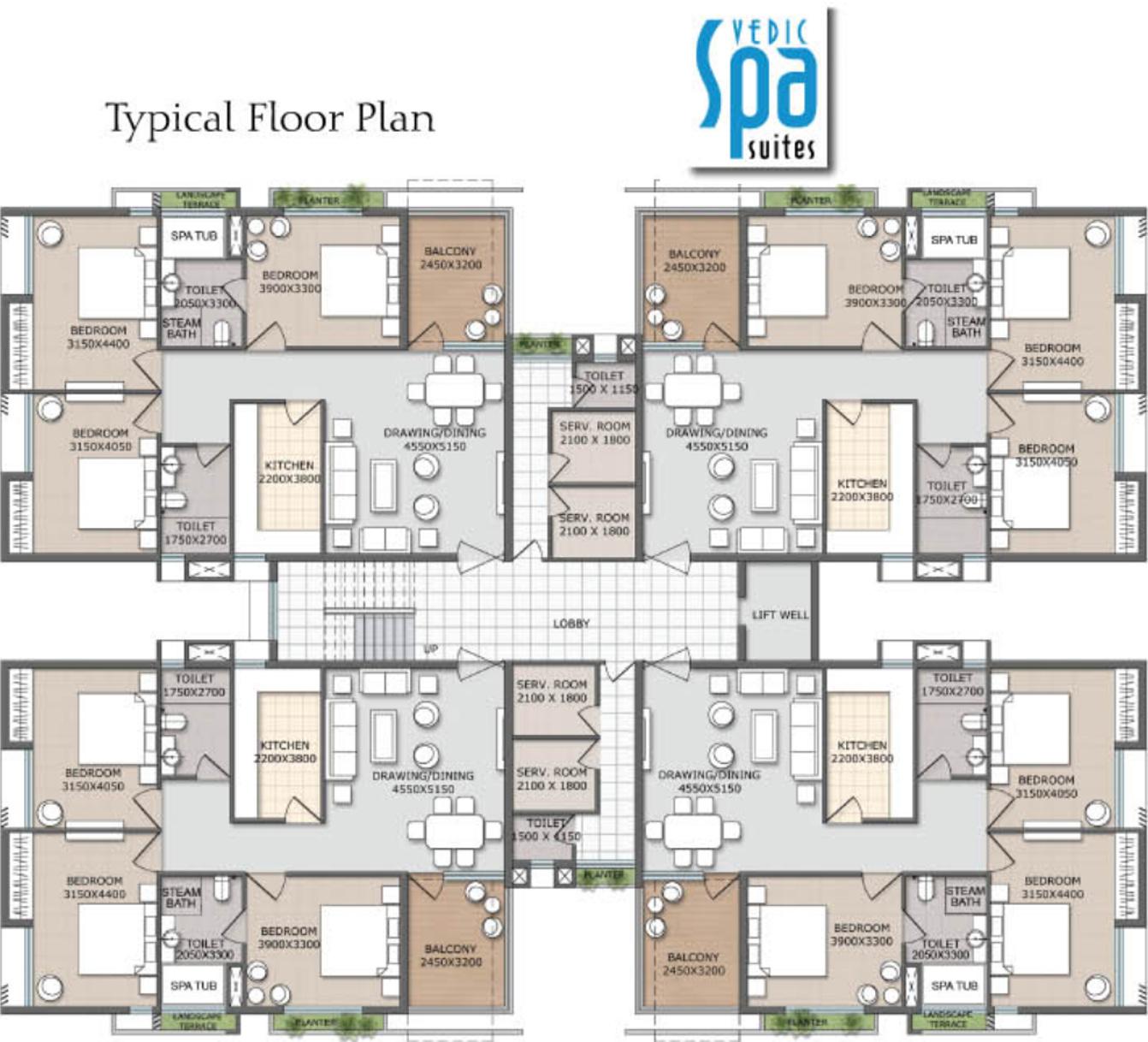Vedic Spa Suites In New Town Kolkata Price Location