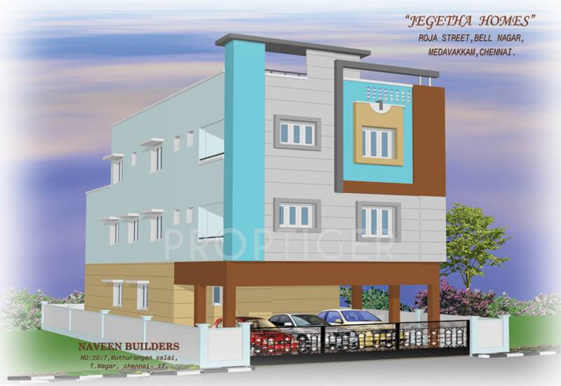 Images for Elevation of Naveen Jegetha Homes