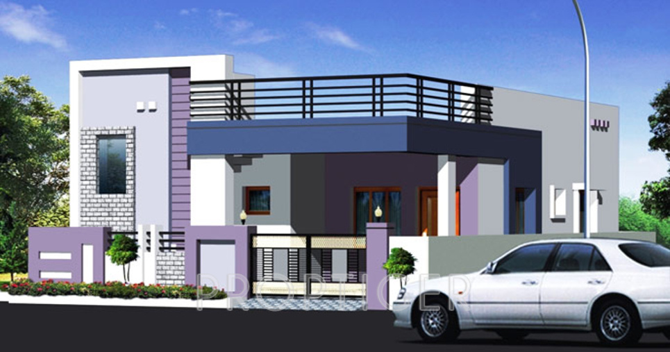 Only Ground Floor Elevation : Pvnr shankar green homes in miyapur hyderabad price