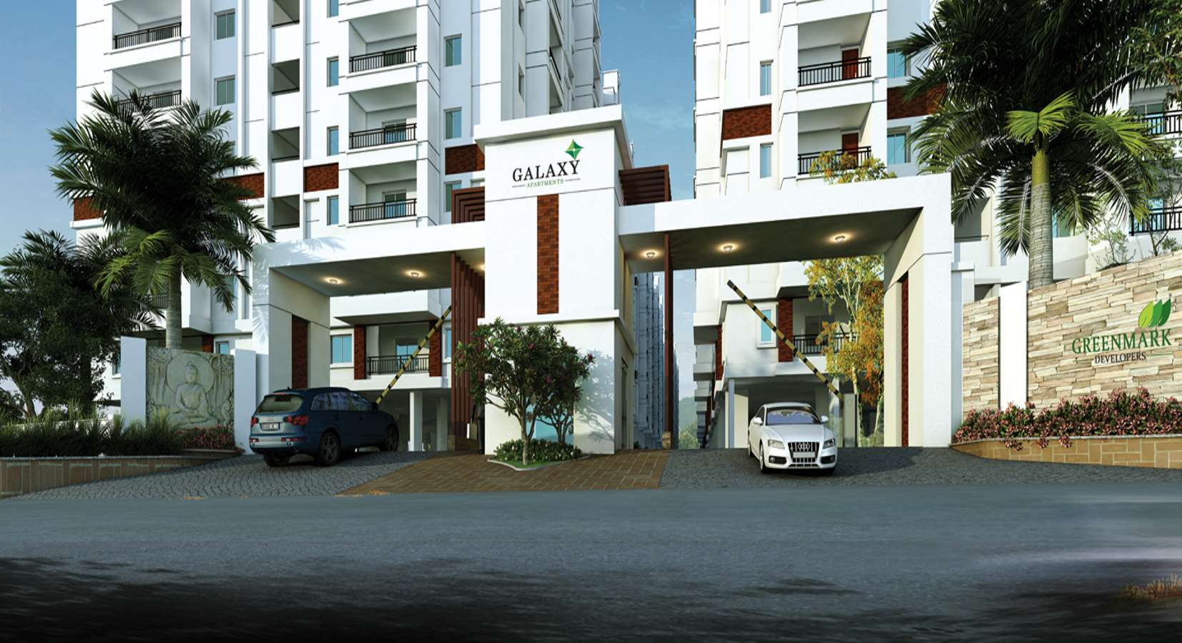 1550 sq ft 3 BHK 2T Apartment for Sale in GreenMark ...