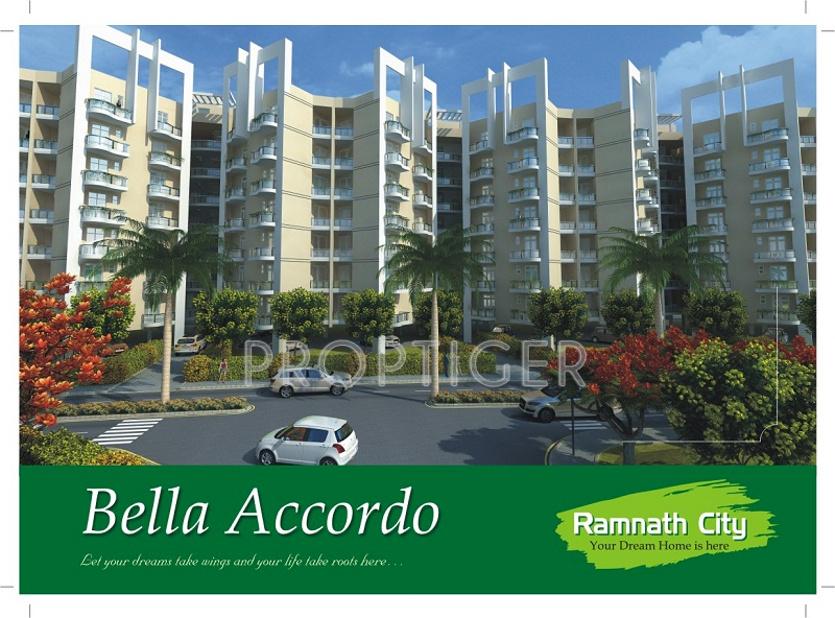 Main Elevation Image Of Ramnath Group City Phase II Unit - Elevation here