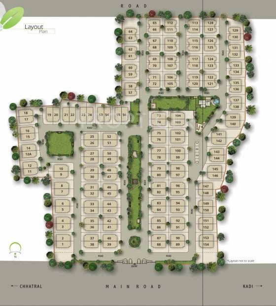 Images for Layout Plan of Shaligram Garden Villa