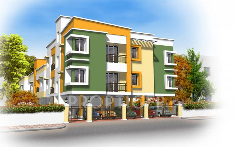 Images for Elevation of Thilaga Constructions Ajith Residency