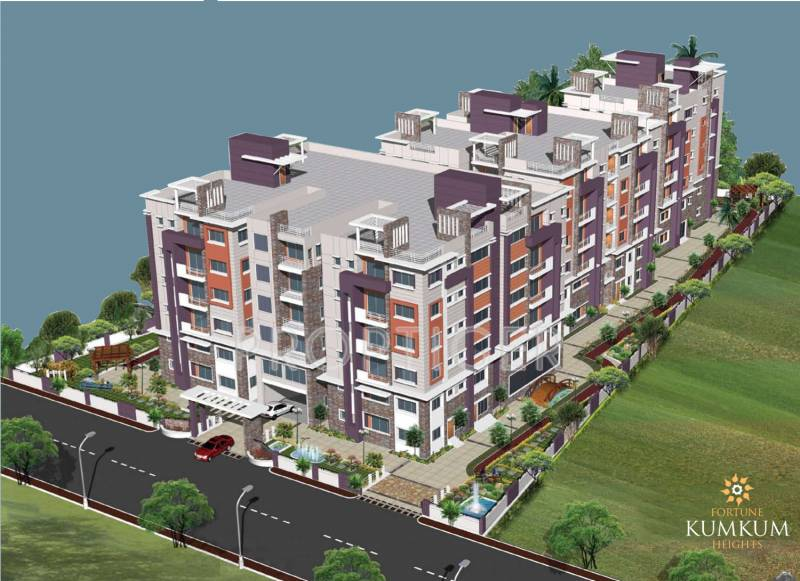 Images for Elevation of Fortune Kumkum Heights