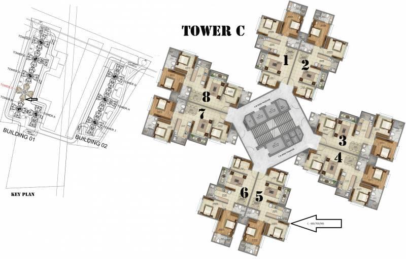 green-field Images for Cluster Plan of Shriram Green Field