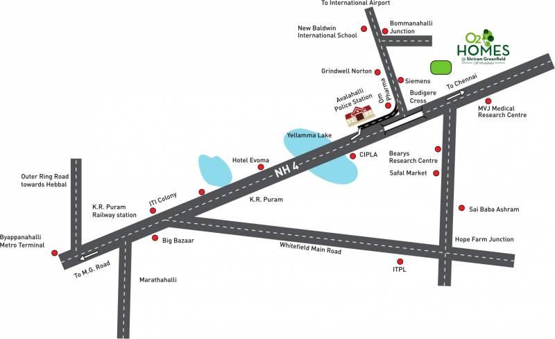Images for Location Plan of Shriram Green Field