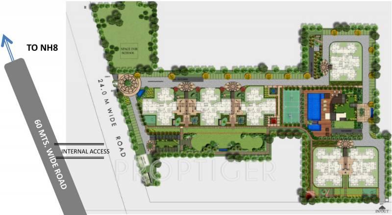 aria Images for Site Plan of Godrej Aria