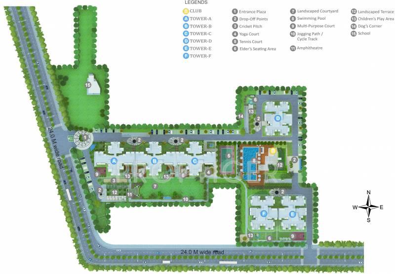 aria Images for Master Plan of Godrej Aria