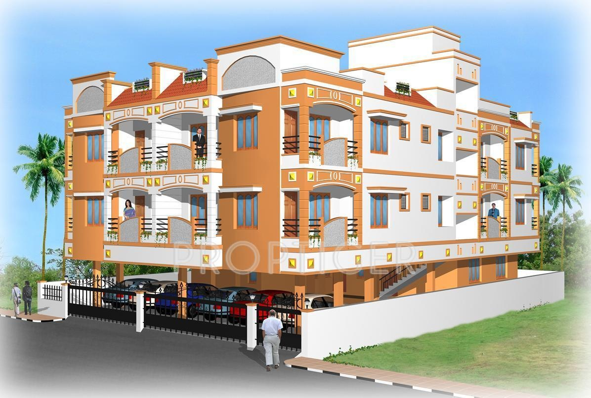 450 Sq Ft 1 Bhk 1t Apartment For Sale In Sba Associates Hi Tech Vadapalani Chennai